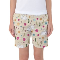 Easter Bunny  Women s Basketball Shorts