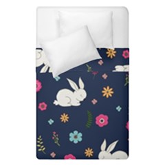 Easter Bunny  Duvet Cover Double Side (single Size) by Valentinaart