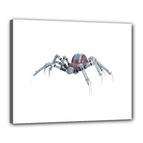 Bionic Spider Cartoon Canvas 20  X 16  by ImagineWorld