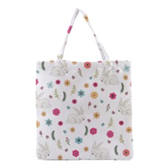 Easter Bunny  Grocery Tote Bag