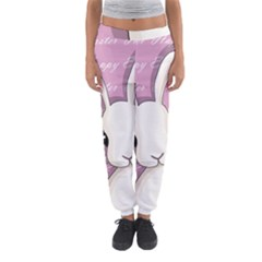 Easter Bunny  Women s Jogger Sweatpants