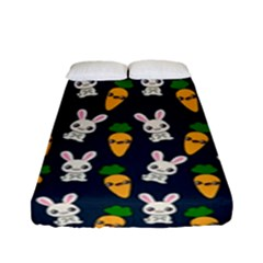 Easter Kawaii Pattern Fitted Sheet (full/ Double Size)