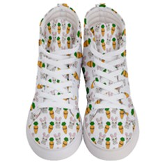 Easter Kawaii Pattern Men s Hi Top Skate Sneakers
