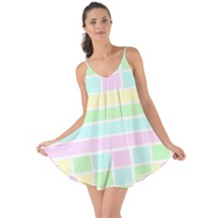 Geometric Pastel Design Baby Pale Love The Sun Cover Up