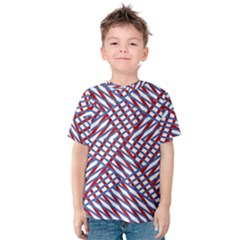 Abstract Chaos Confusion Kids  Cotton Tee
