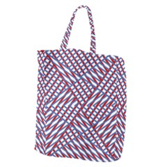 Abstract Chaos Confusion Giant Grocery Zipper Tote