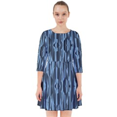 Texture Surface Background Metallic Smock Dress