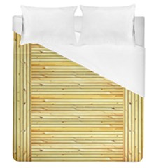 Wood Texture Background Light Duvet Cover (queen Size)