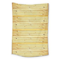 Wood Texture Background Light Large Tapestry by Nexatart