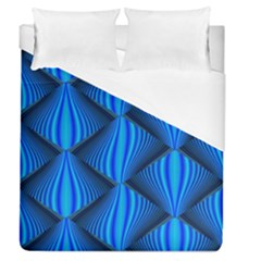 Abstract Waves Motion Psychedelic Duvet Cover (queen Size)
