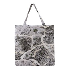 Coquina Shell Limestone Rocks Grocery Tote Bag by Nexatart
