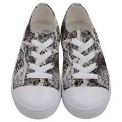 Coquina Shell Limestone Rocks Kids  Low Top Canvas Sneakers