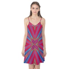 Burst Radiate Glow Vivid Colorful Camis Nightgown