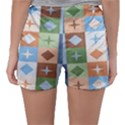 Fabric Textile Textures Cubes Sleepwear Shorts View2