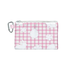 Easter Patches  Canvas Cosmetic Bag (small) by Valentinaart