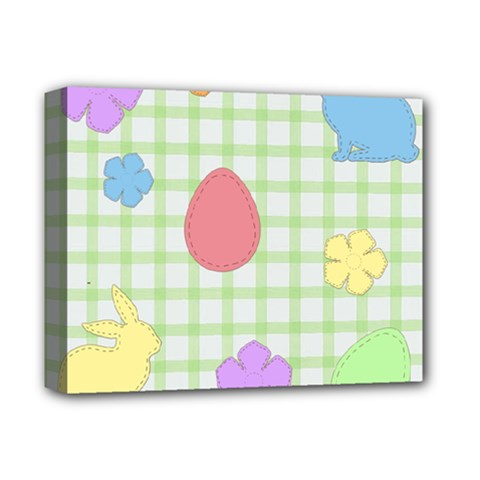 Easter Patches  Deluxe Canvas 14  X 11
