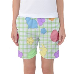 Easter Patches  Women s Basketball Shorts