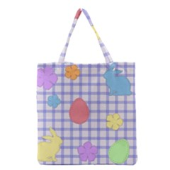 Easter Patches  Grocery Tote Bag