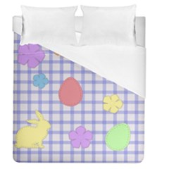 Easter Patches  Duvet Cover (queen Size)