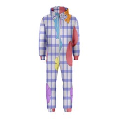 Easter Patches  Hooded Jumpsuit (kids)