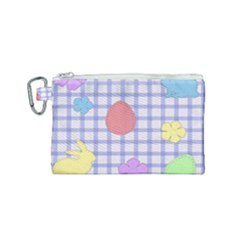 Easter Patches  Canvas Cosmetic Bag (small)