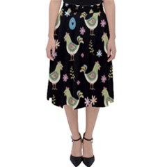 Easter Pattern Folding Skater Skirt