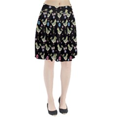 Easter Pattern Pleated Skirt