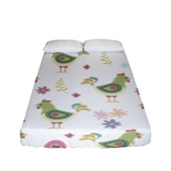 Easter Pattern Fitted Sheet (full/ Double Size)