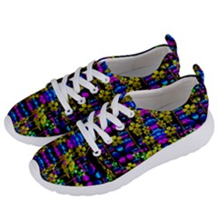 Flowers In The Most Beautiful  Dark Women s Lightweight Sports Shoes by pepitasart