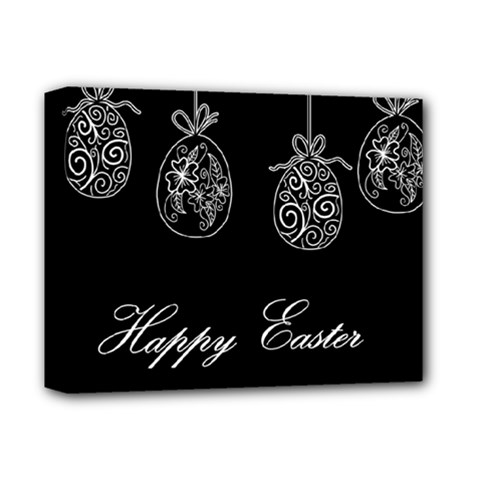 Easter Eggs Deluxe Canvas 14  X 11  by Valentinaart
