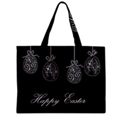 Easter Eggs Zipper Mini Tote Bag