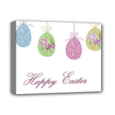 Easter Eggs Deluxe Canvas 14  X 11