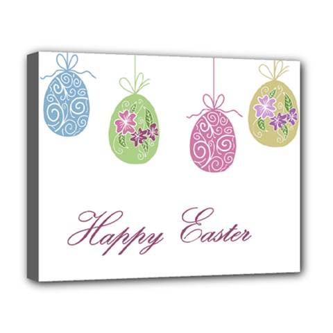 Easter Eggs Deluxe Canvas 20  X 16