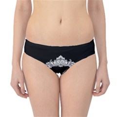 Edgar Allan Poe    Never More Hipster Bikini Bottoms by Valentinaart