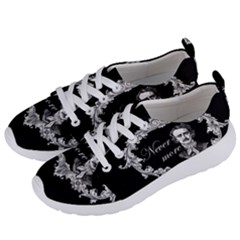 Edgar Allan Poe    Never More Women s Lightweight Sports Shoes by Valentinaart