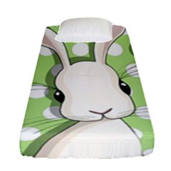 Easter Bunny  Fitted Sheet (single Size)