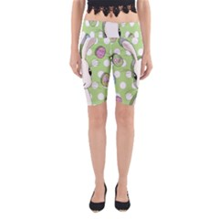 Easter Bunny  Yoga Cropped Leggings