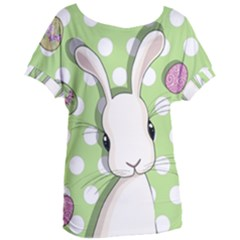 Easter Bunny  Women s Oversized Tee