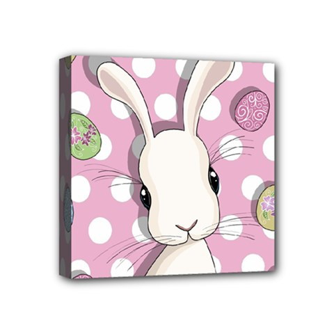 Easter Bunny  Mini Canvas 4  X 4