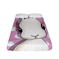 Easter Bunny  Fitted Sheet (full/ Double Size)