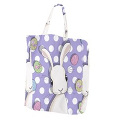 Easter Bunny  Giant Grocery Zipper Tote by Valentinaart