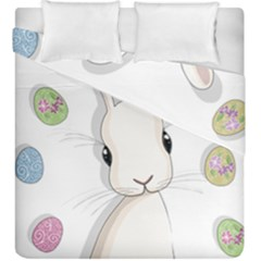 Easter Bunny  Duvet Cover Double Side (king Size)