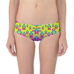 Flowers In The Most Beautiful Sunshine Classic Bikini Bottoms by pepitasart