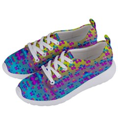 Flowers In The Most Beautiful Sunshine Women s Lightweight Sports Shoes by pepitasart