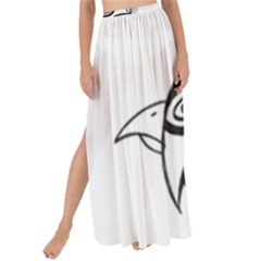 Bird Maxi Chiffon Tie Up Sarong