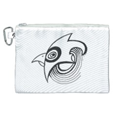 Bird Canvas Cosmetic Bag (xl) by ValentinaDesign