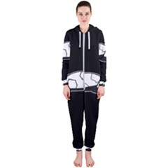 Turtle Hooded Jumpsuit (ladies)