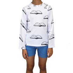 Turtle Kids  Long Sleeve Swimwear