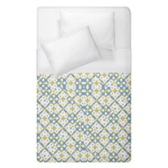 Vivid Check Geometric Pattern Duvet Cover (single Size) by dflcprints