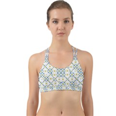 Vivid Check Geometric Pattern Back Web Sports Bra by dflcprints